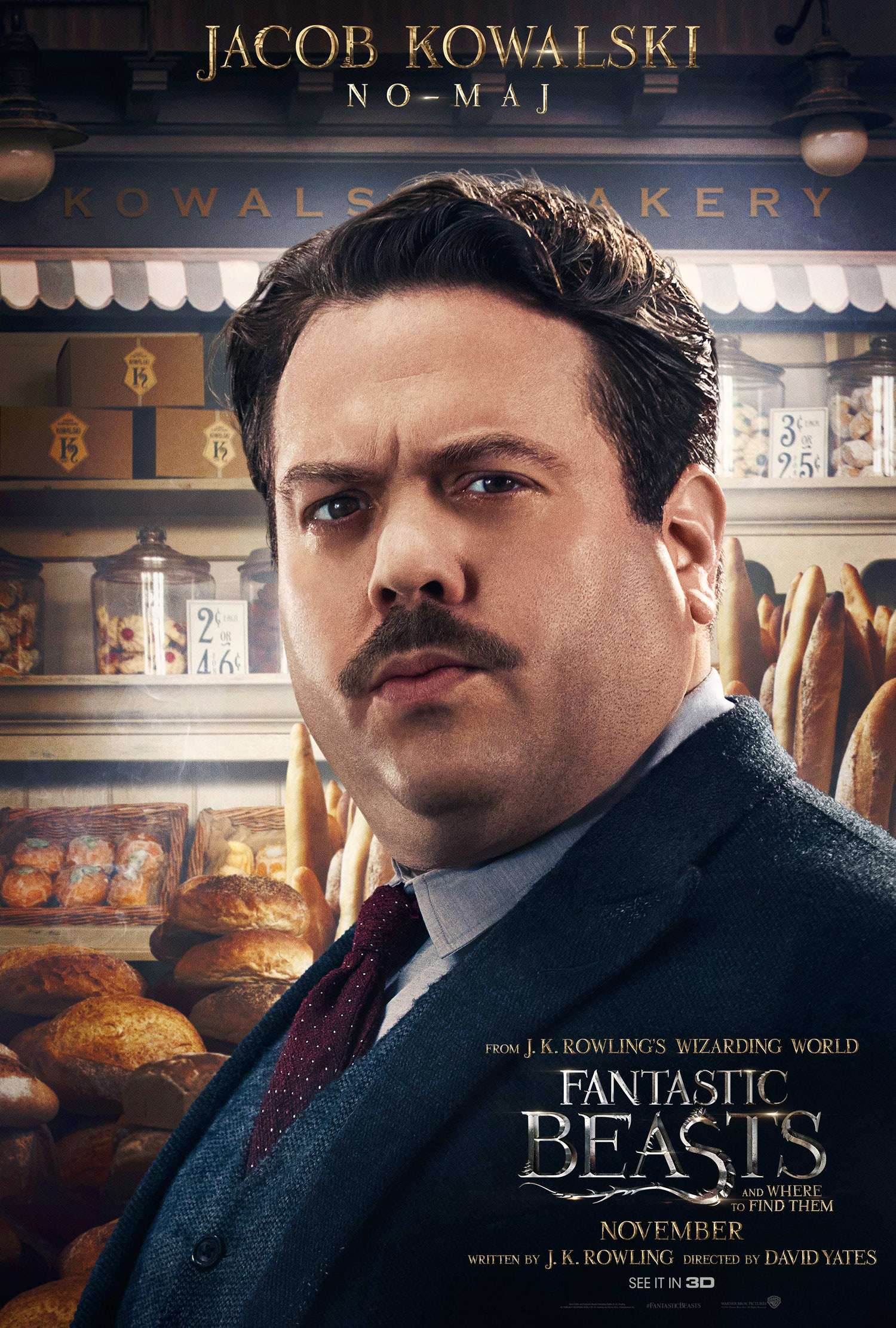 'Fantastic Beasts and Where to Find Them' Jacob poster