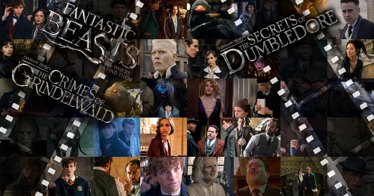 'Fantastic Beasts' movie stills