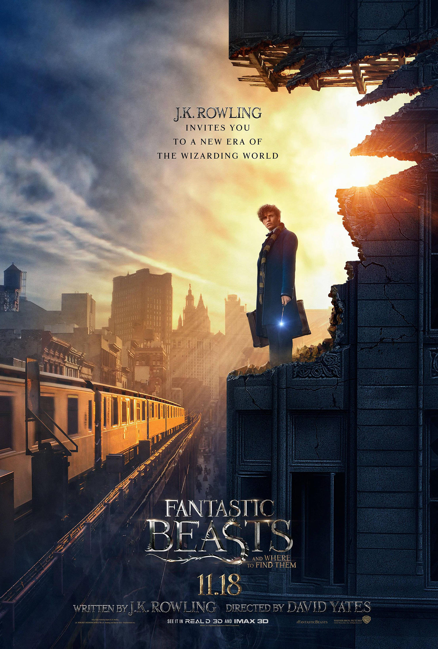 'Fantastic Beasts and Where to Find Them' poster #2