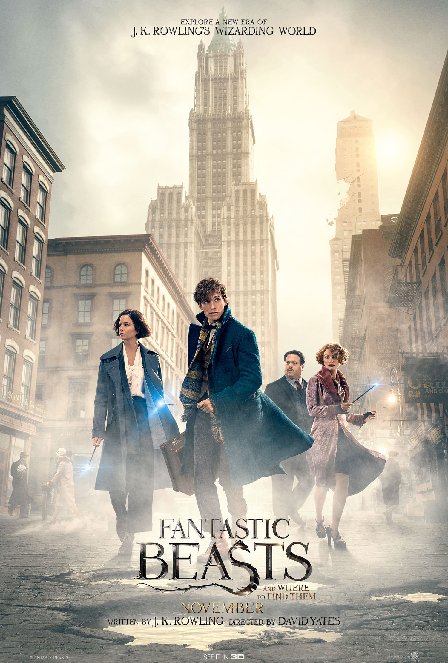 'Fantastic Beasts and Where to Find Them' poster #3