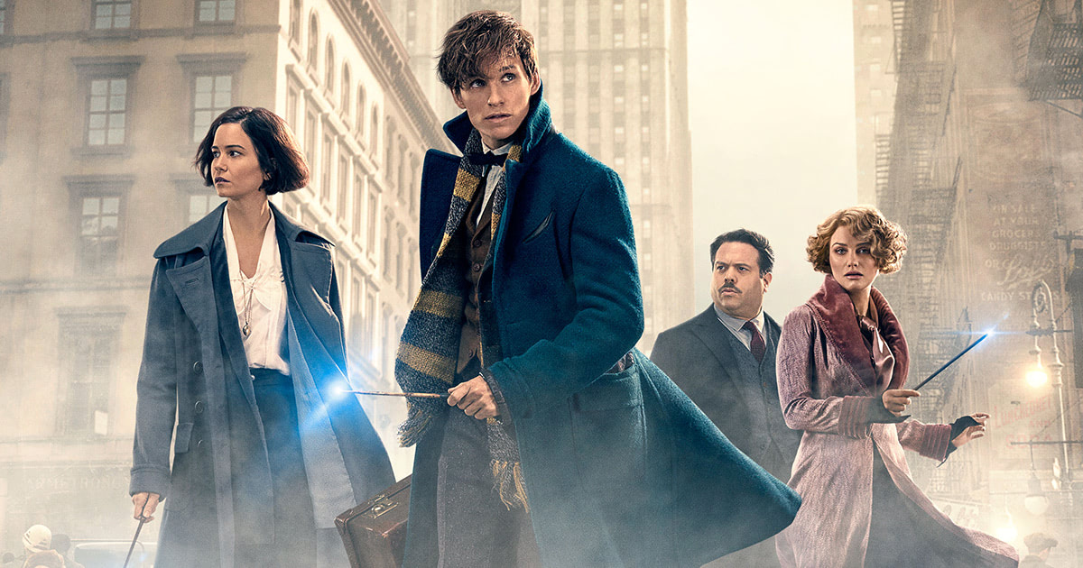 New 'Fantastic Beasts and Where to Find Them' poster