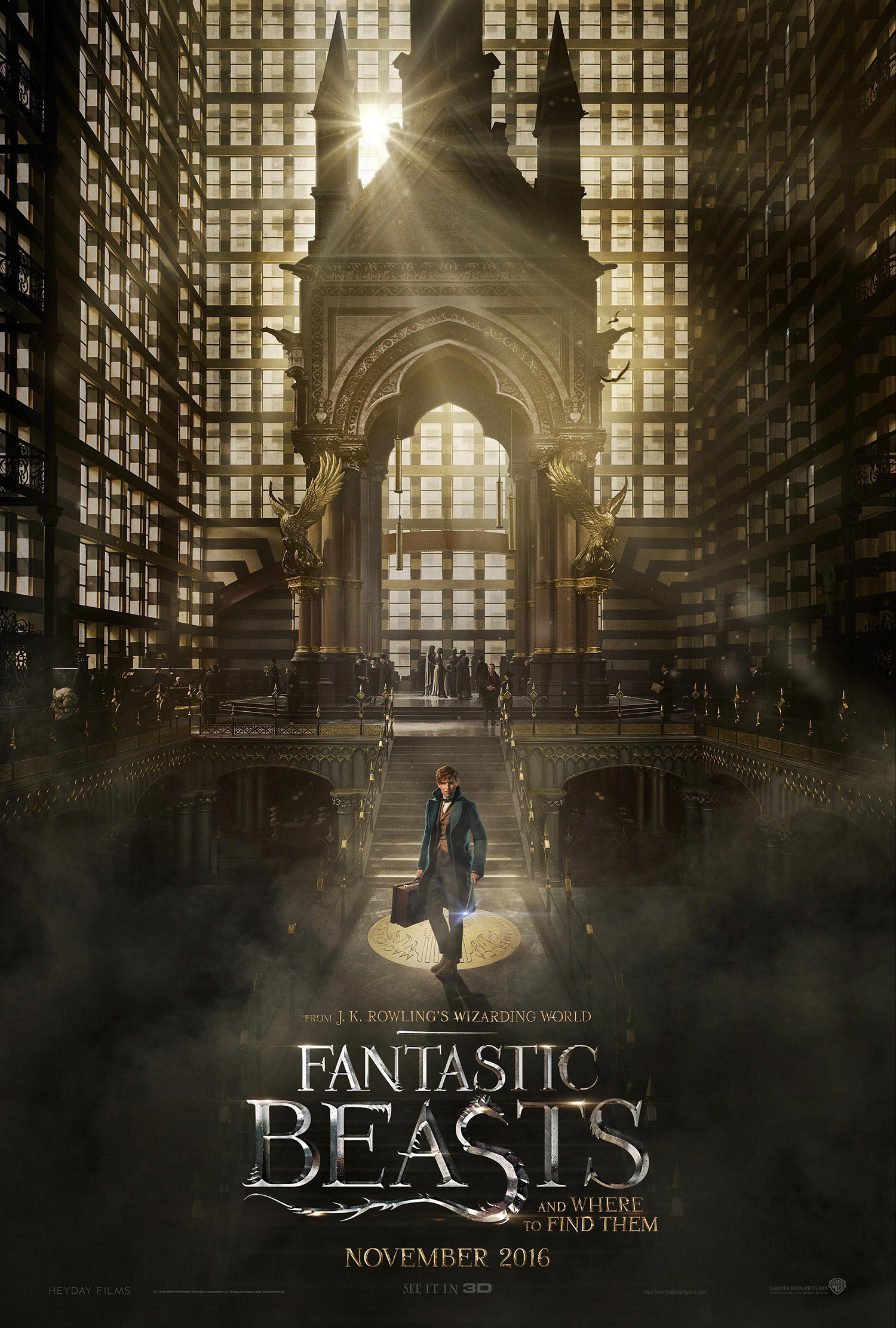 'Fantastic Beasts and Where to Find Them' poster