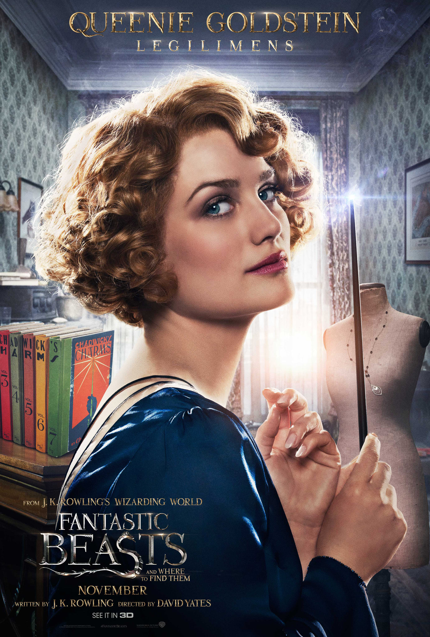'Fantastic Beasts and Where to Find Them' Queenie poster