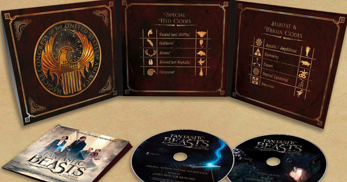 First track from 'Fantastic Beasts' soundtrack revealed along with tracklisting, artwork