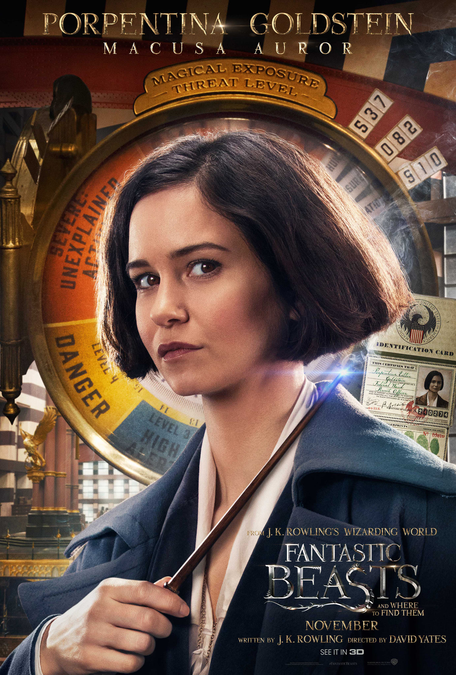 'Fantastic Beasts and Where to Find Them' Tina poster