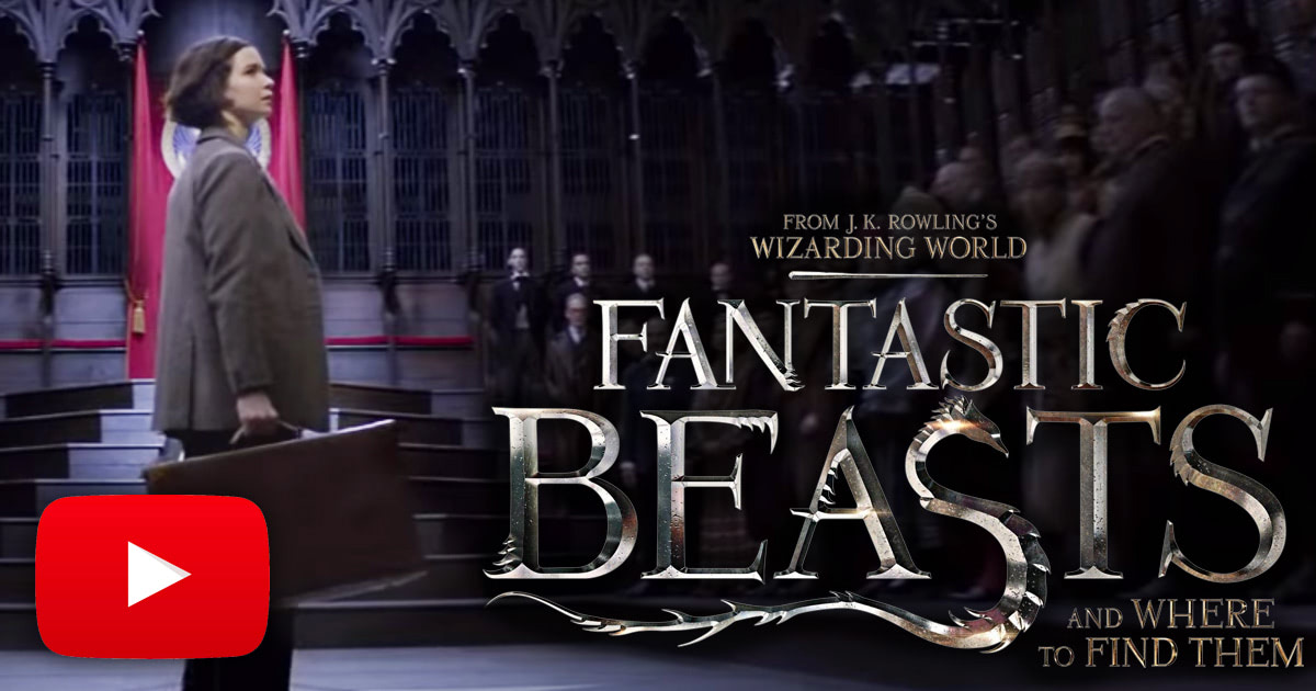First trailer for 'Fantastic Beasts and Where to Find Them' released