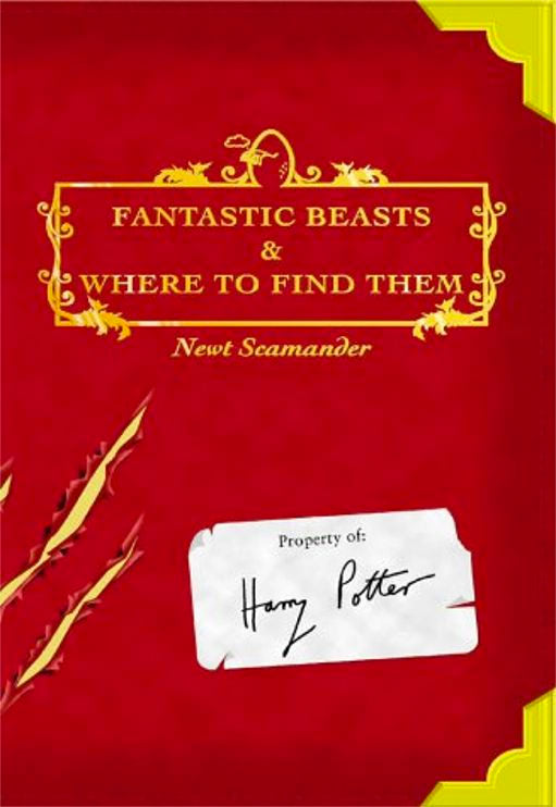 'Fantastic Beasts and Where to Find Them' UK edition