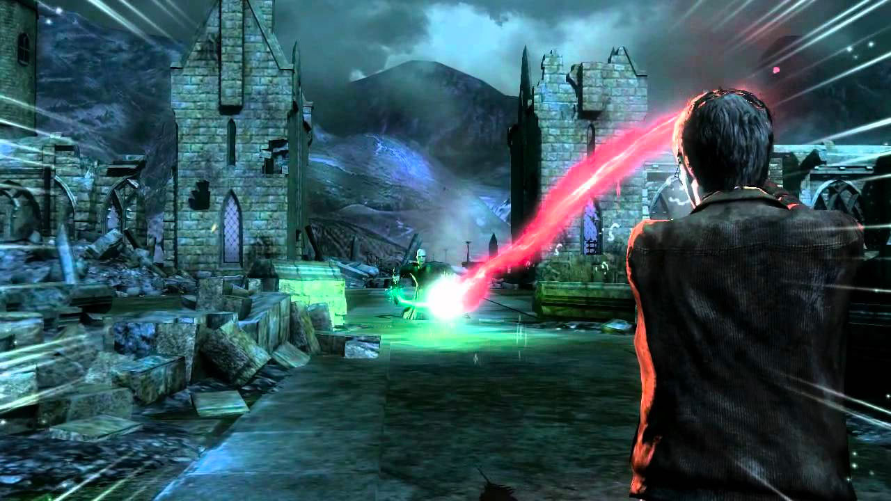 Final duel (Deathly Hallows: Part 2 video game)