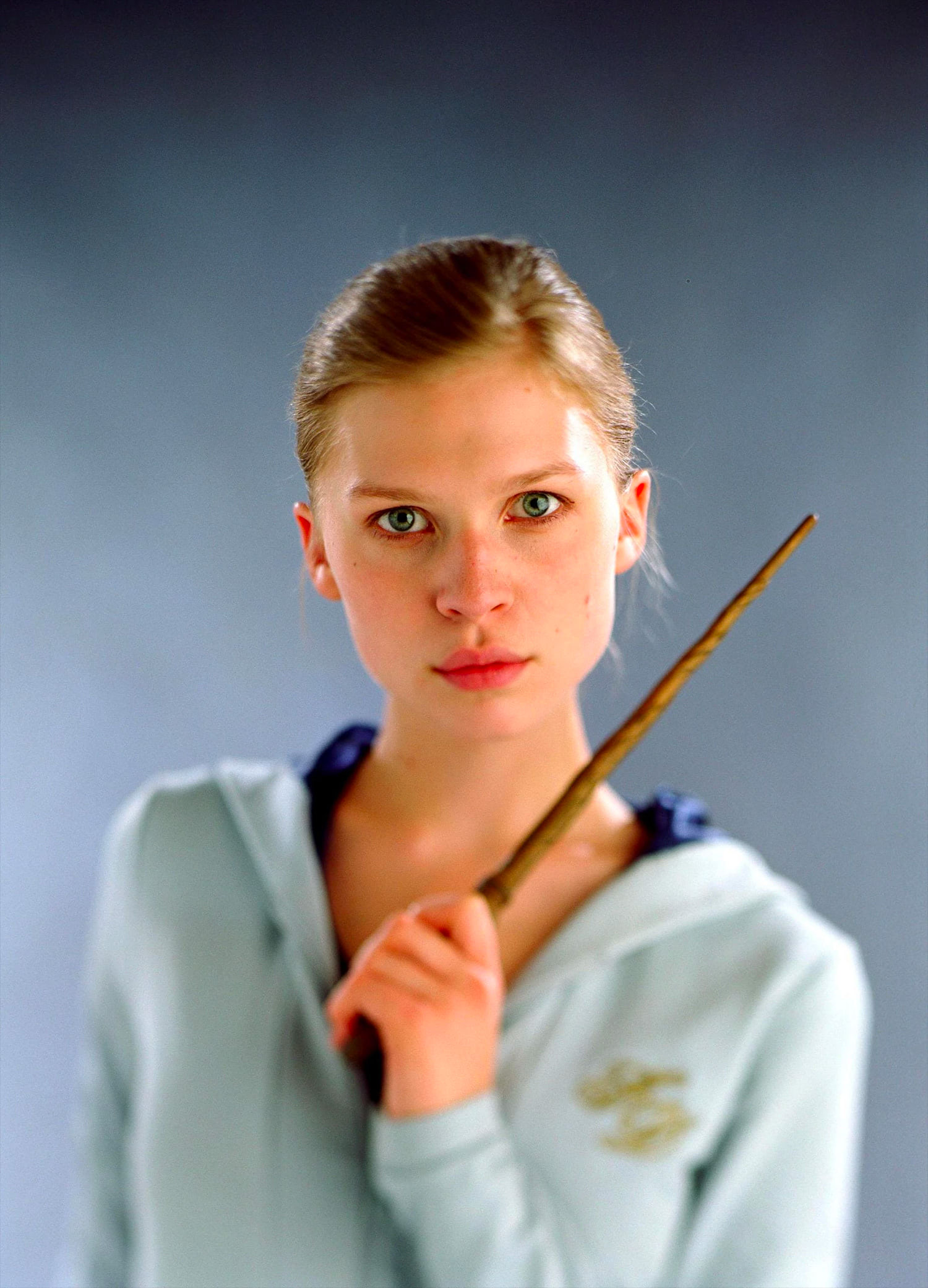 Portrait of Fleur Delacour in her Third Task robes