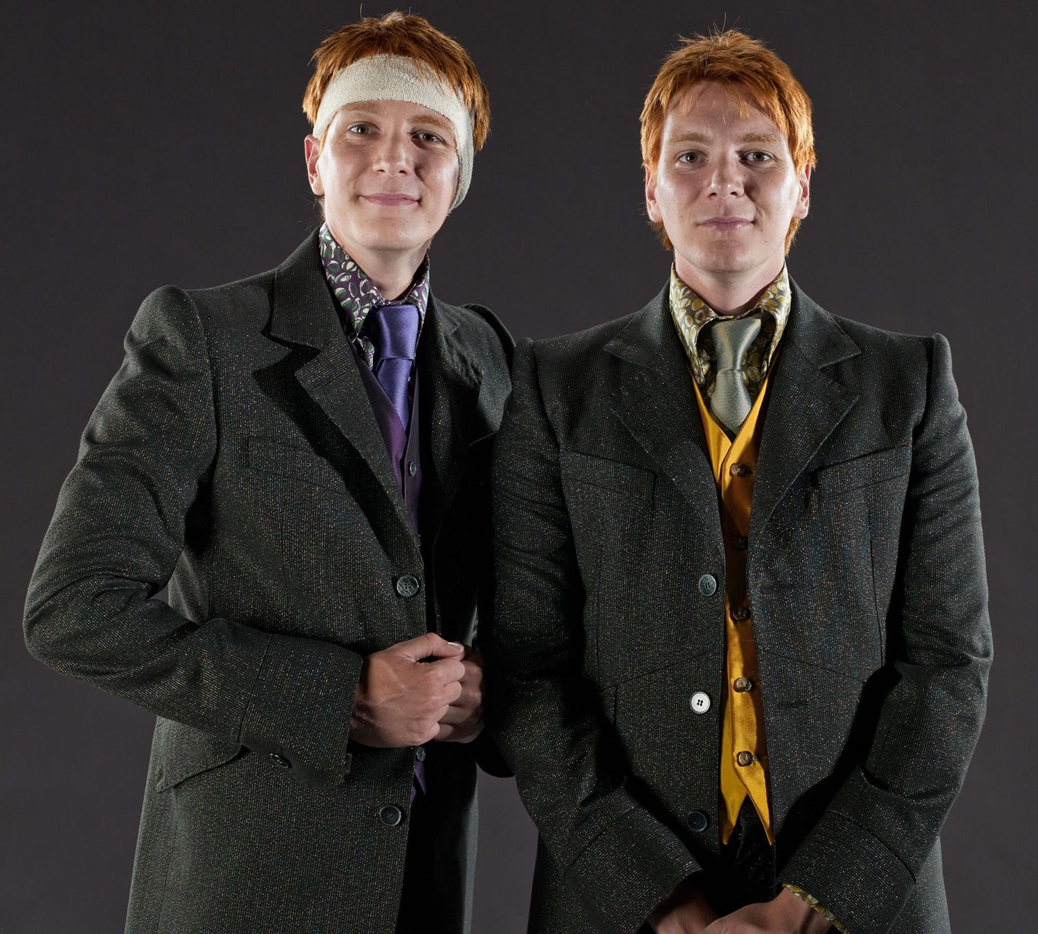 Portrait of Fred and George Weasley