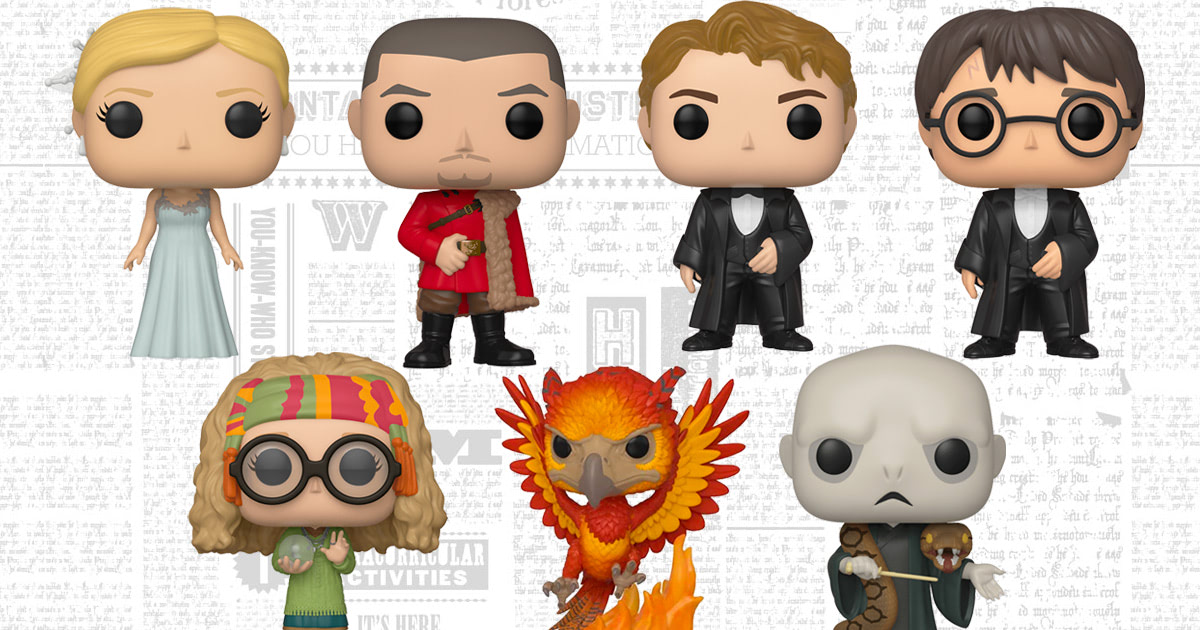 Funko to release new wave of 'Harry Potter' Pop! Vinyls
