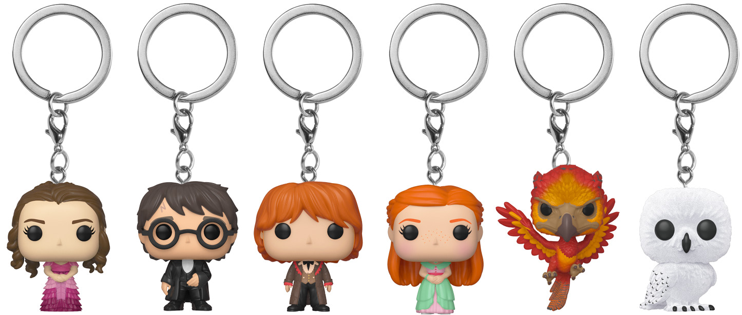 Funko 'Harry Potter' keychains (May 2019)