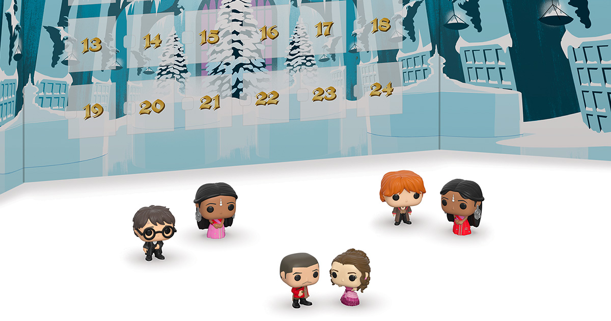 Funko to release 2019 'Harry Potter' Yule Ball Advent calendar