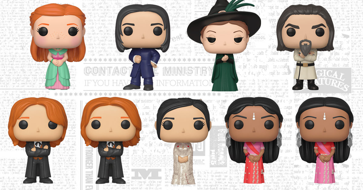Funko to release second wave of Yule Ball Pop! Vinyl figures