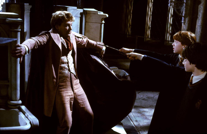 Gilderoy Lockhart confronted