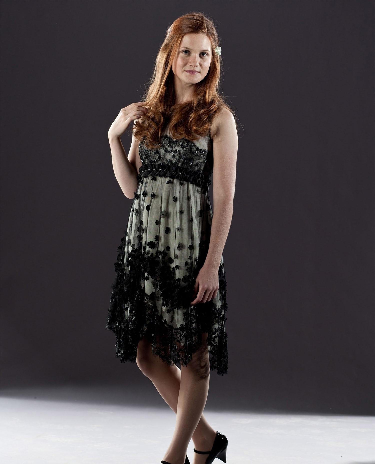 Ginny Weasley wedding portrait