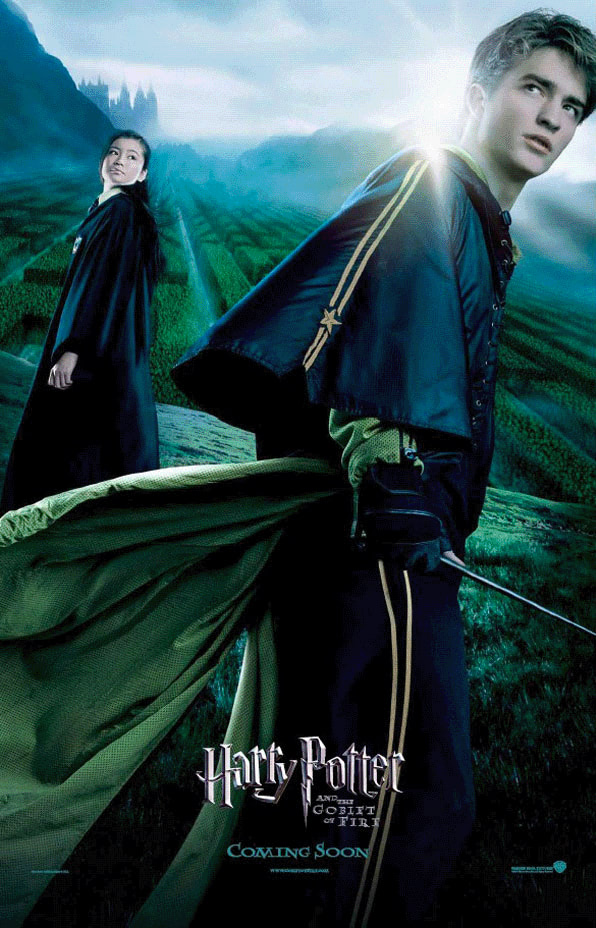 'Goblet of Fire' Cedric & Cho poster