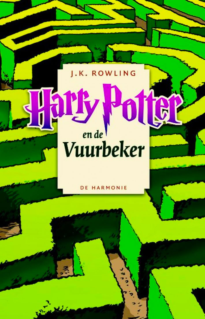 'Goblet of Fire' Dutch pocket edition