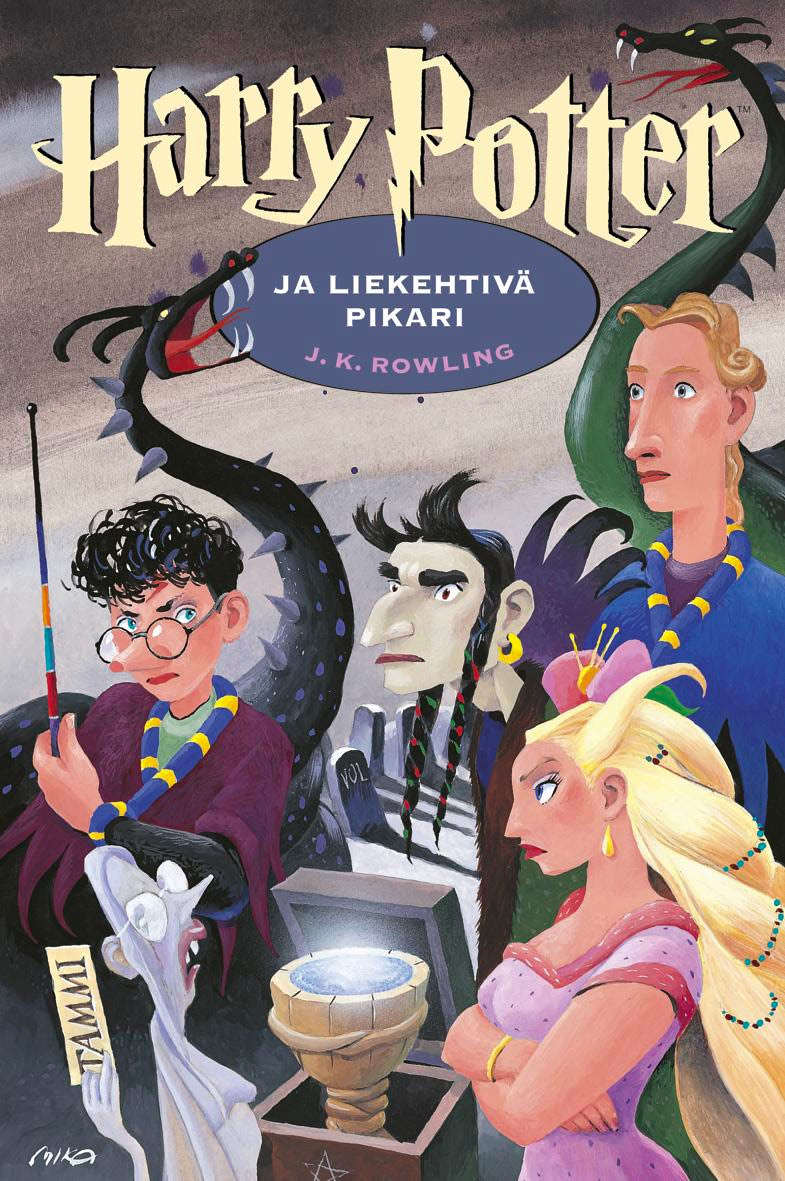 'Goblet of Fire' Finnish edition