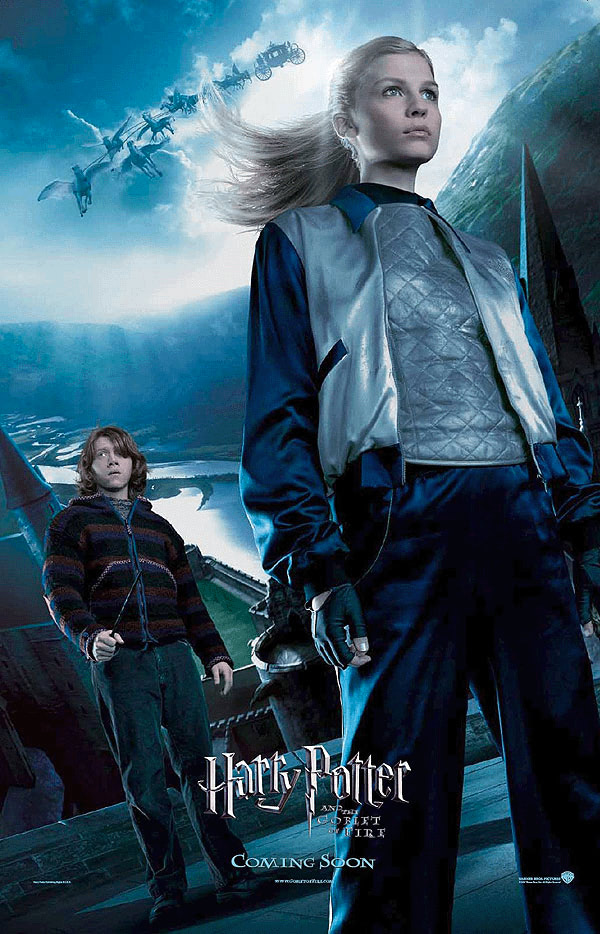 'Goblet of Fire' Fleur & Ron poster