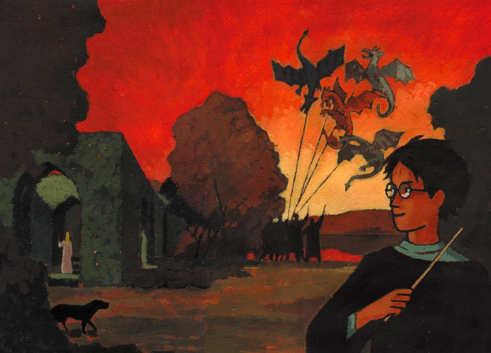 'Goblet of Fire' French edition (full jacket)
