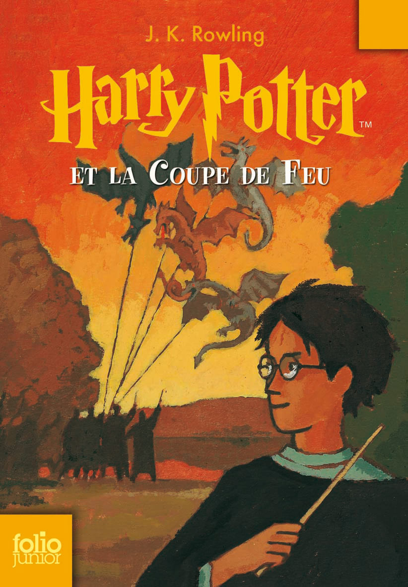 'Goblet of Fire' French edition
