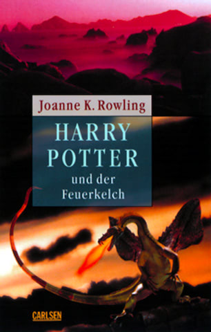 'Goblet of Fire' German adult edition