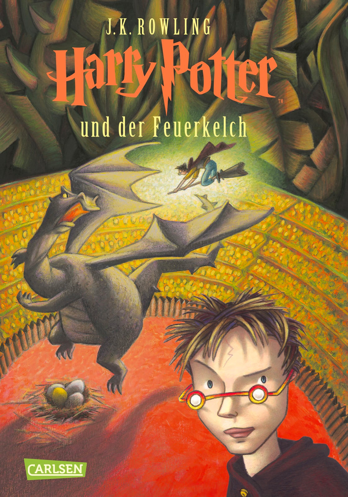 'Goblet of Fire' German edition