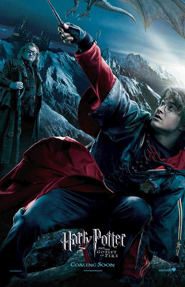 'Goblet of Fire' Harry & Moody poster