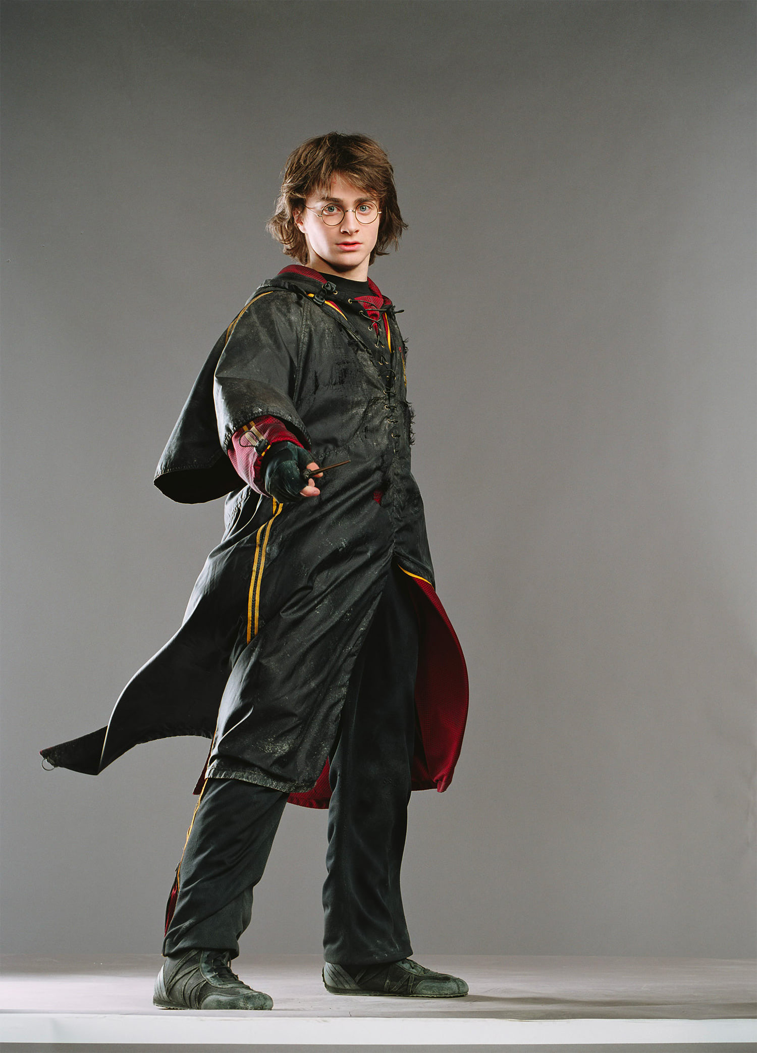 Portrait of Harry in his First Task outfit