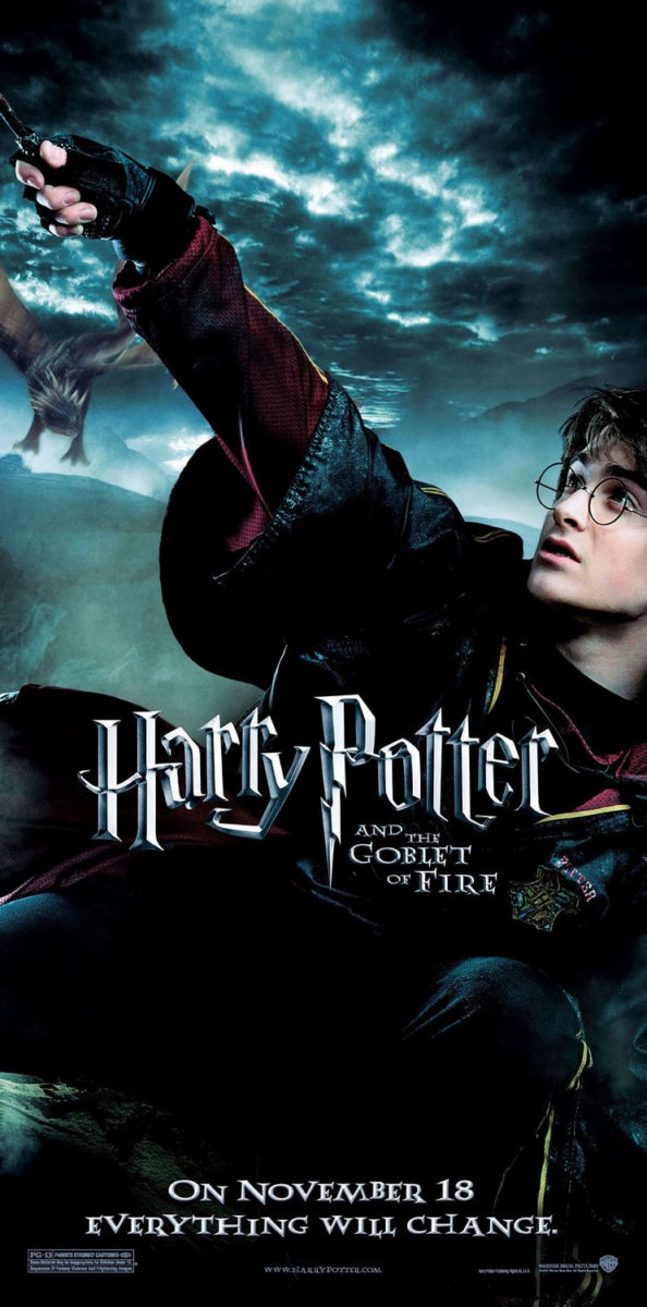 'Goblet of Fire' Harry poster