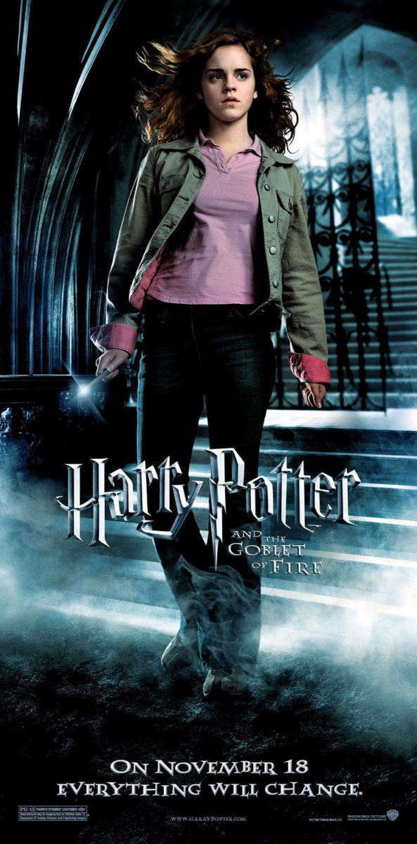 'Goblet of Fire' Hermione poster