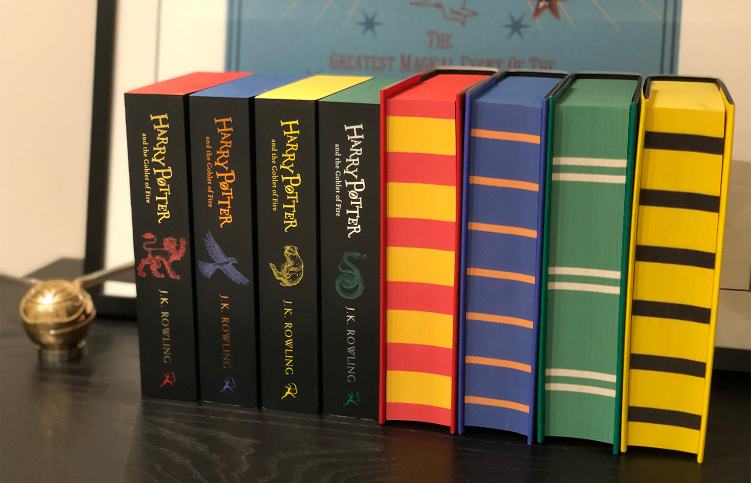 'Goblet of Fire' house editions