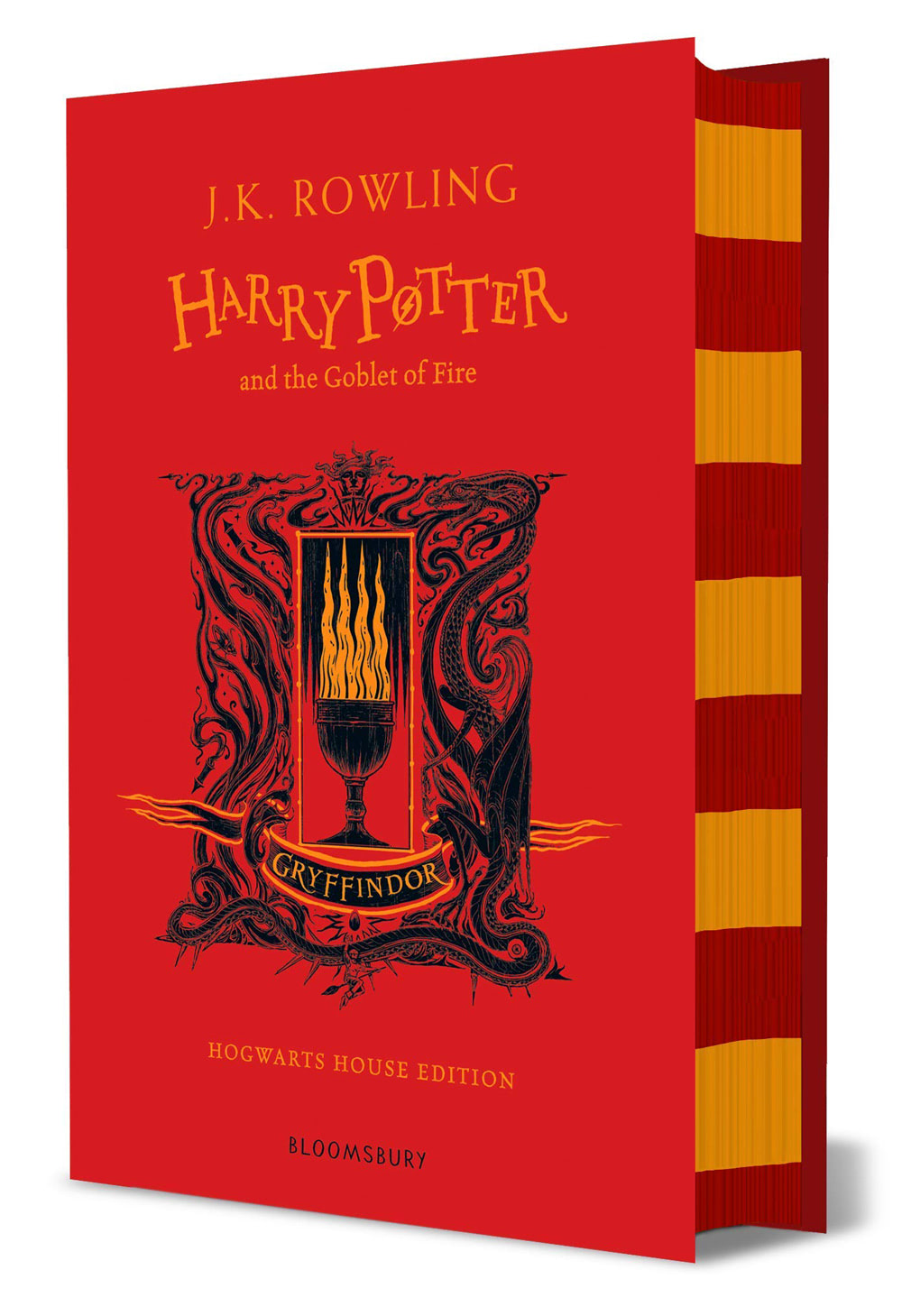 'Goblet of Fire' house edition (Gryffindor) (hardback)