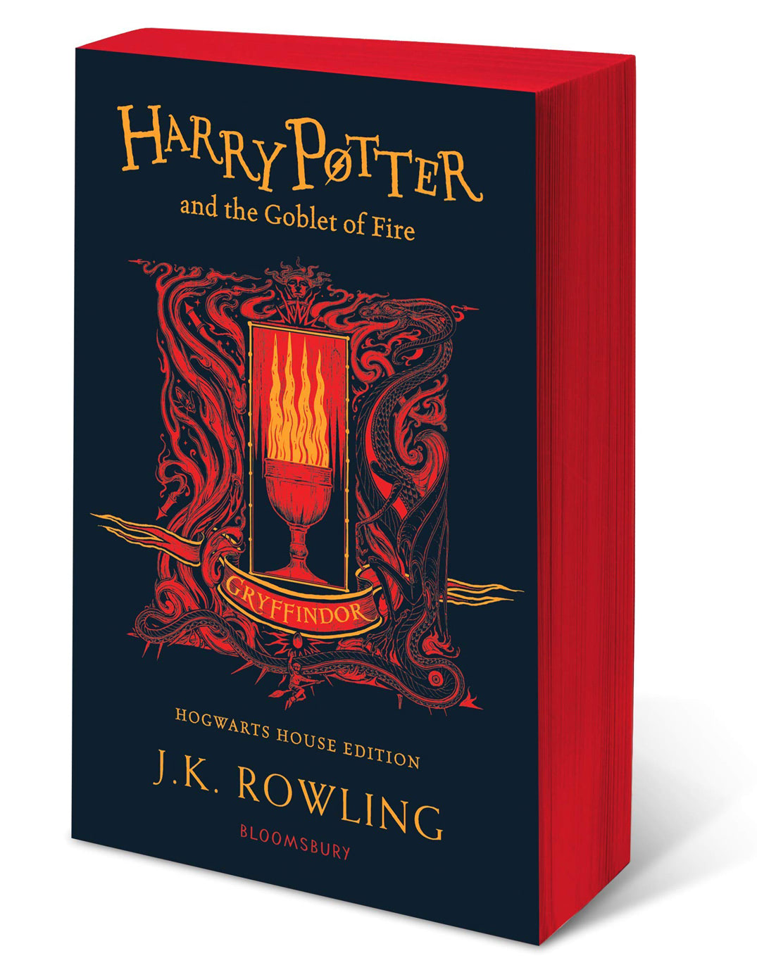 'Goblet of Fire' house edition (Gryffindor) (paperback)