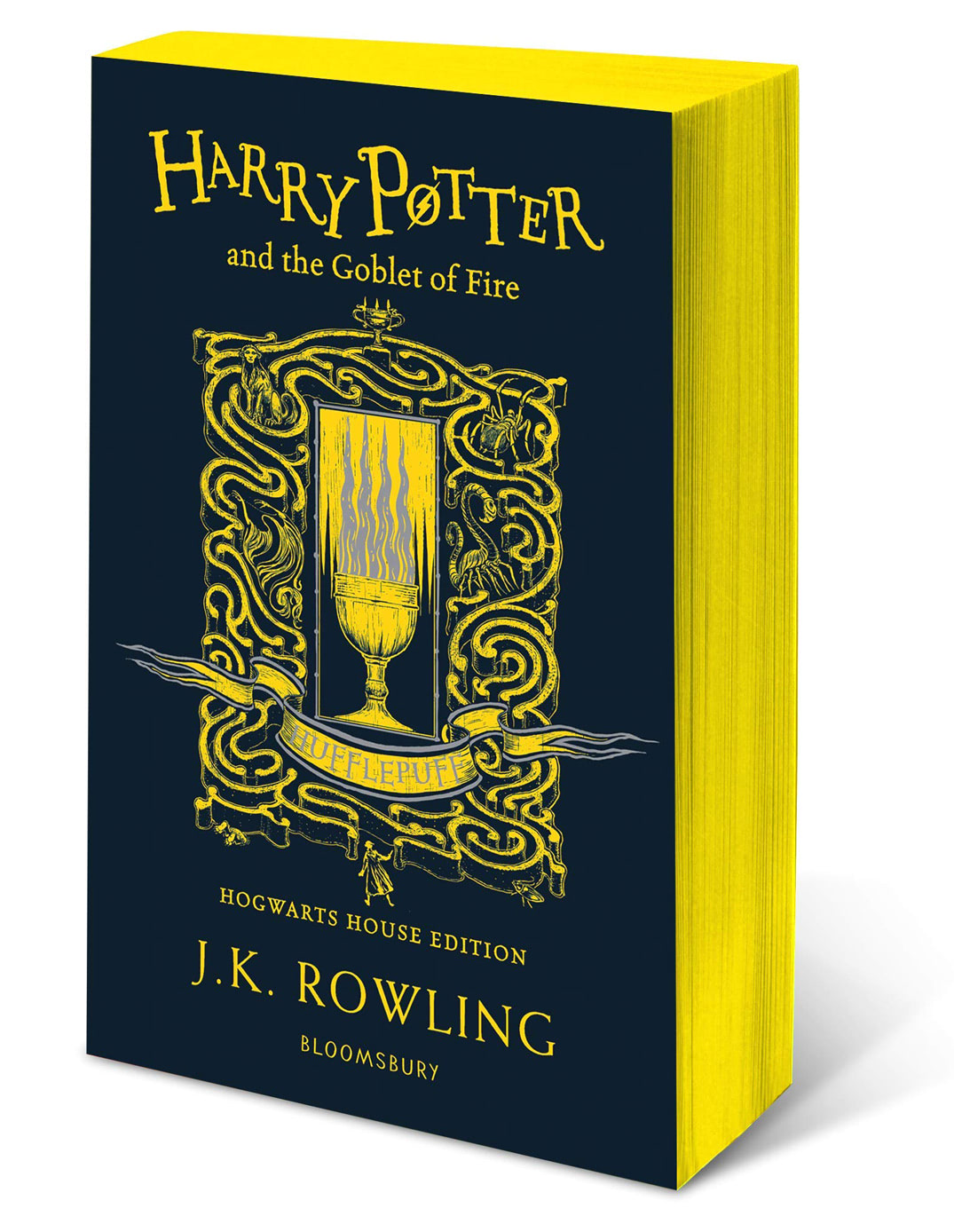 'Goblet of Fire' house edition (Hufflepuff) (paperback)