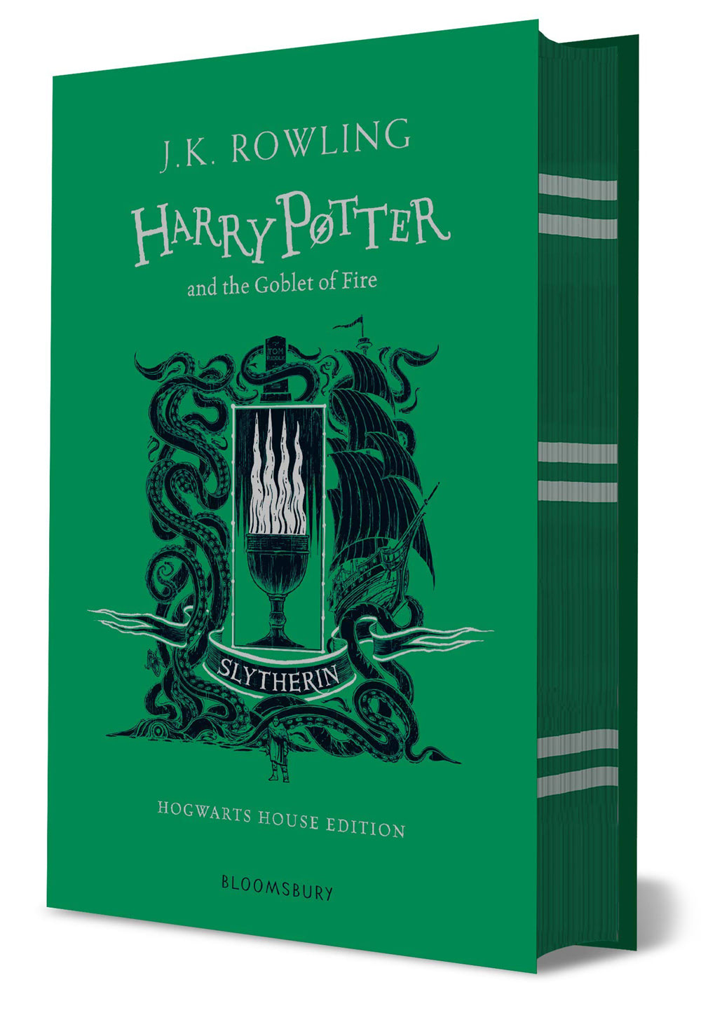 'Goblet of Fire' house edition (Slytherin) (hardback)