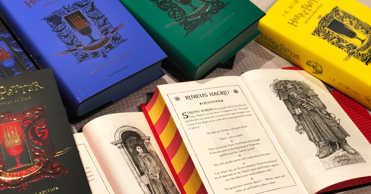 Review: all eight 'Goblet of Fire' 20th anniversary house editions