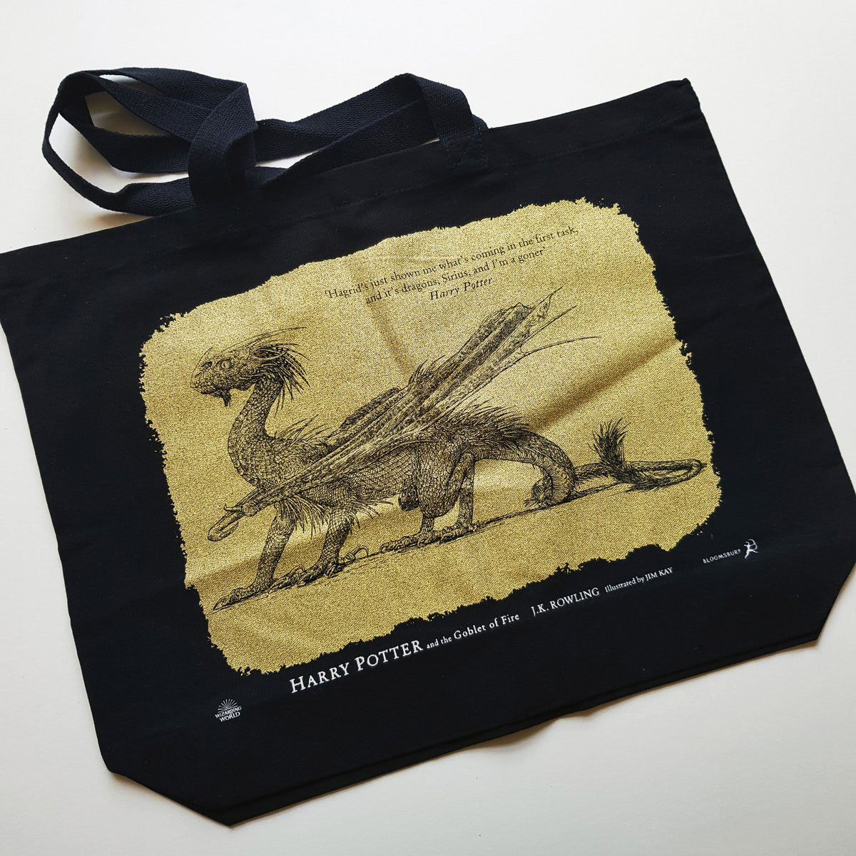 'Goblet of Fire' illustrated edition (deluxe tote bag)