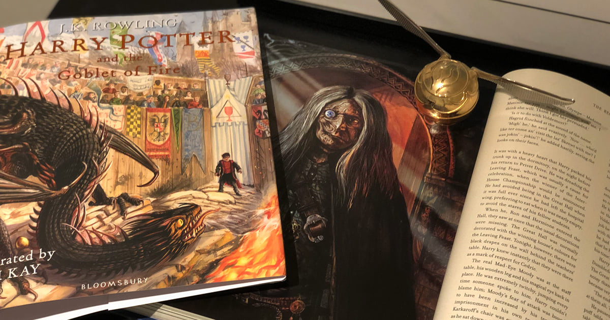 Review: the gorgeous new 'Goblet of Fire' full-colour illustrated edition