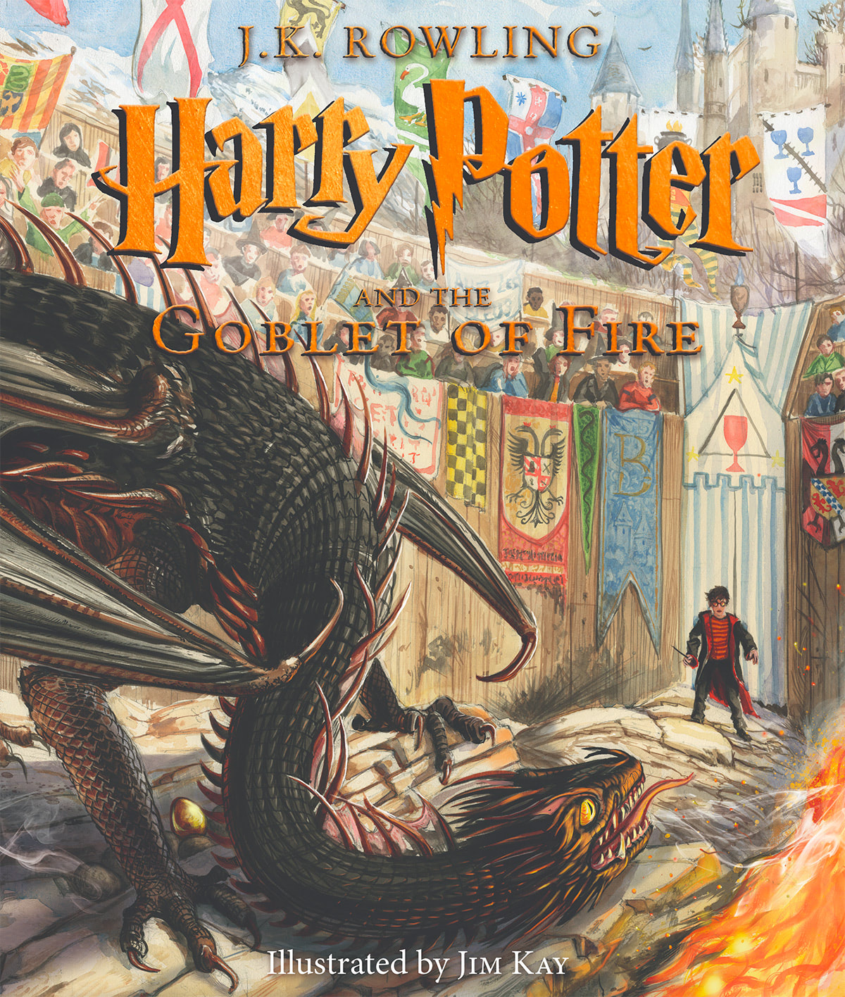'Goblet of Fire' illustrated edition (US)