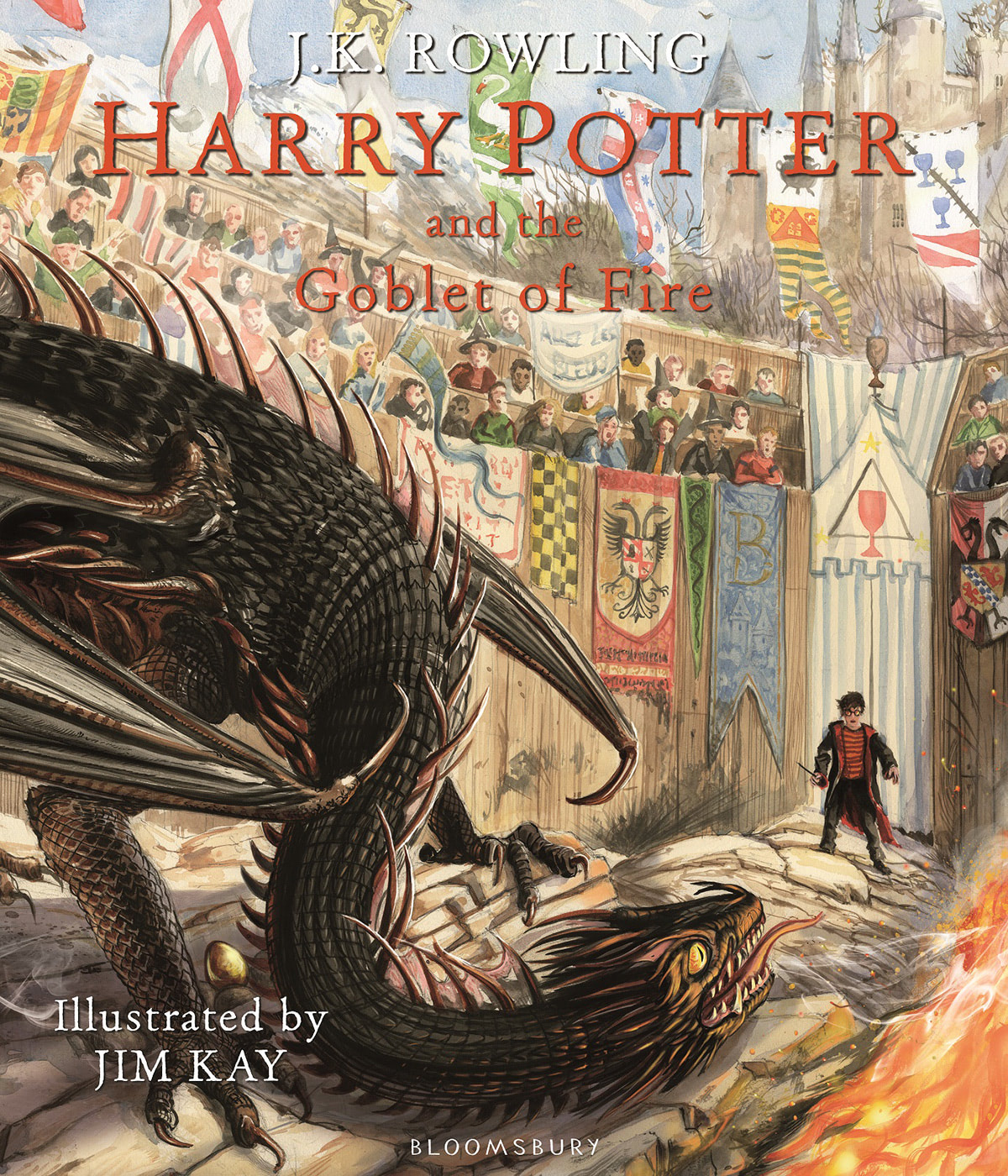 'Goblet of Fire' illustrated edition