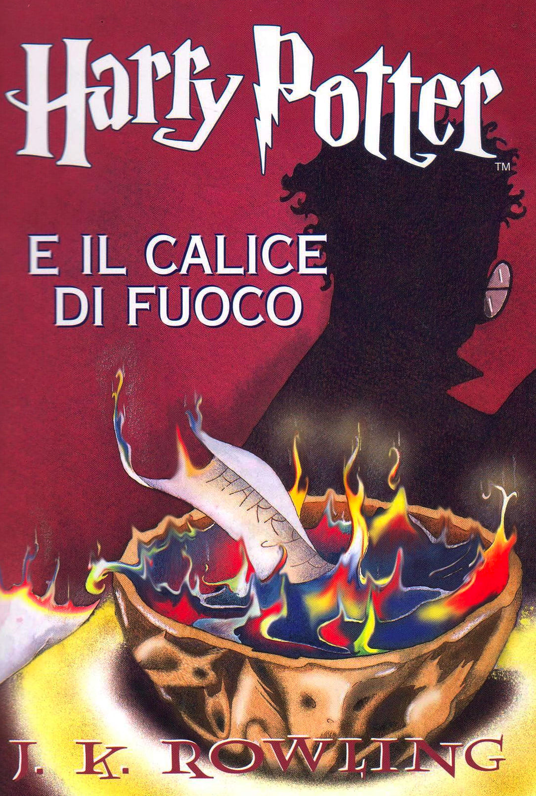 'Goblet of Fire' Italian edition