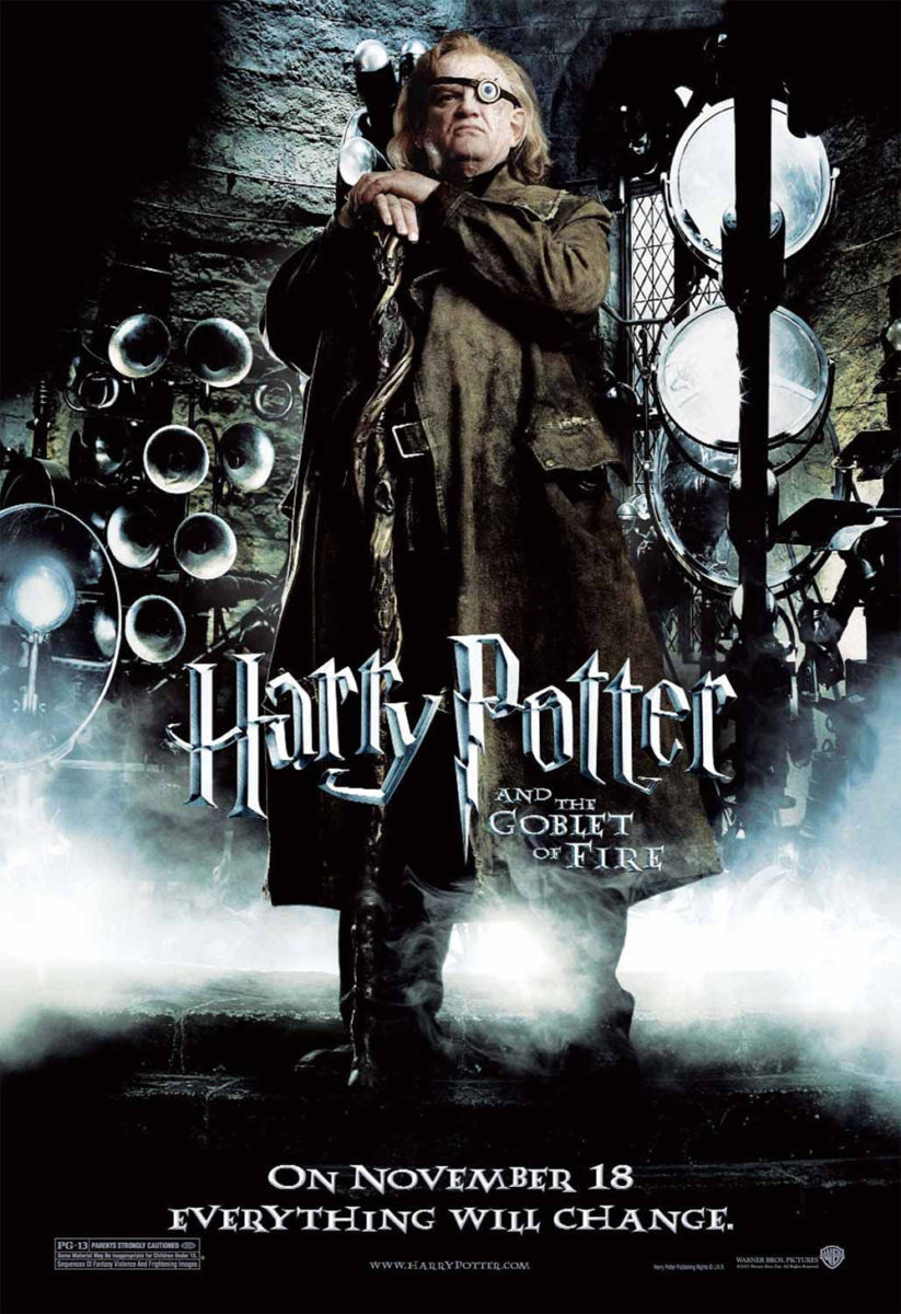 'Goblet of Fire' Mad-Eye Moody poster