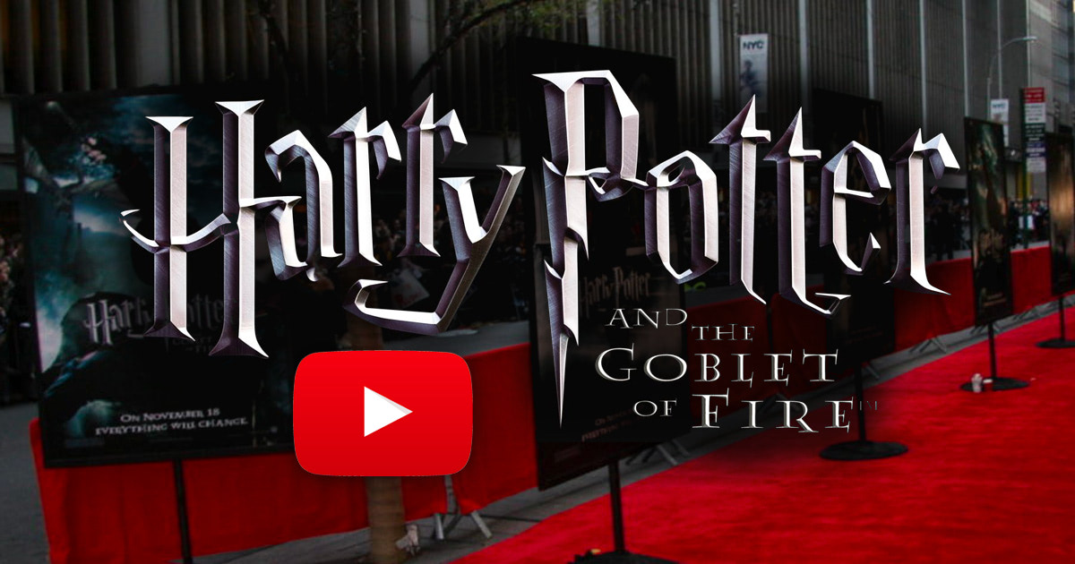 Harry Potter Fan Zone reports from the 'Goblet of Fire' red carpet premiere