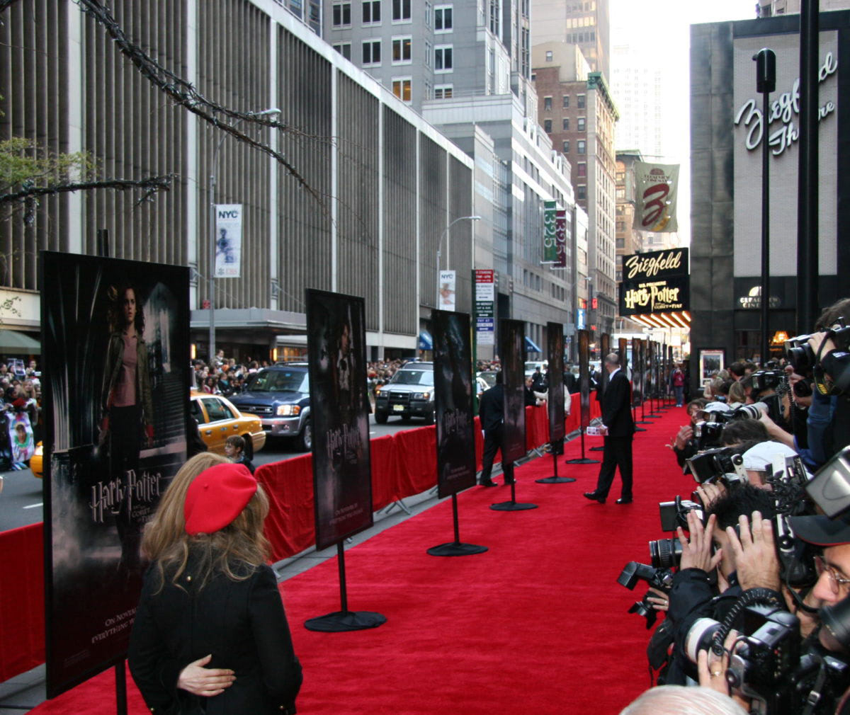 New York City 'Goblet of Fire' red carpet premiere