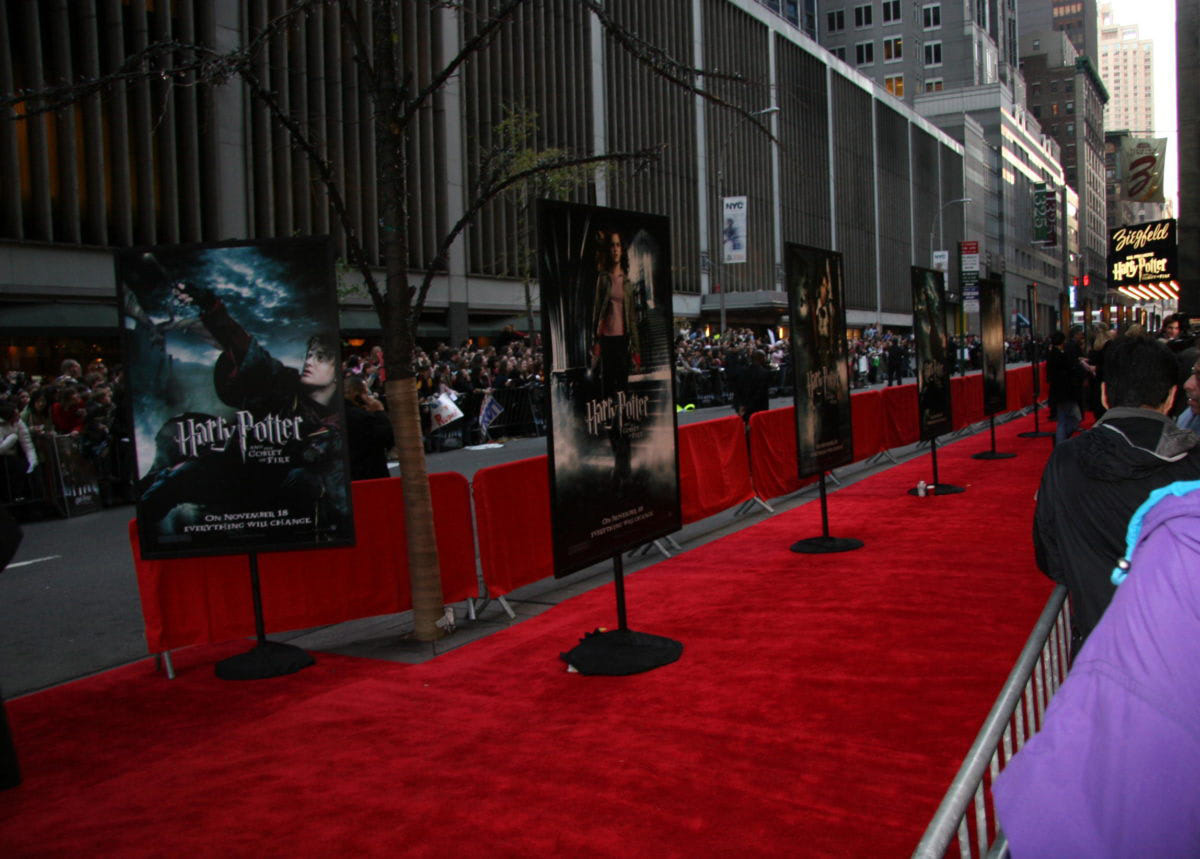 'Goblet of Fire' New York City premiere