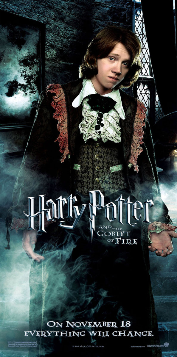 'Goblet of Fire' Ron poster