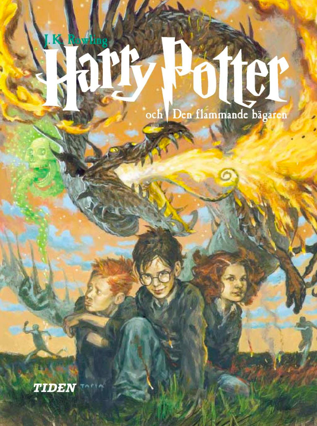 'Goblet of Fire' Swedish edition