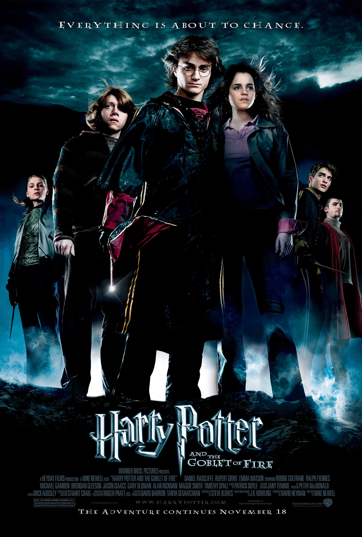 'Goblet of Fire' theatrical poster